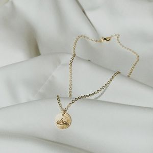 Jewelry - Gold Mountain Coin Charity Necklace